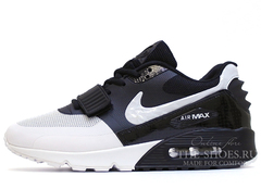 Кроссовки Мужские Nike Air Max 90 HYP White Black By Kanye West