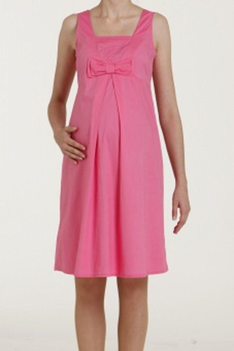 Платье для беременных 00467 розовый