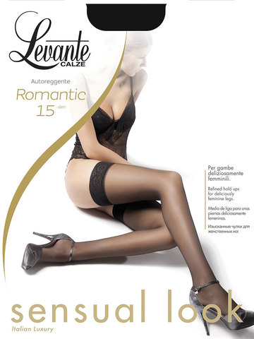 Чулки Romantic 15 Levante