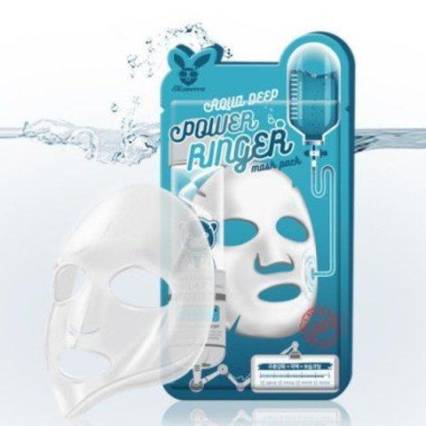 Elizavecca Тканевая маска для лица Увлажняющая AQUA  DEEP POWER Ringer mask pack, 23мл