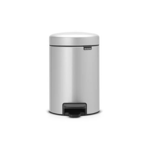 Мусорный бак newicon (3 л), Серый металлик, арт. 113260 - фото 1