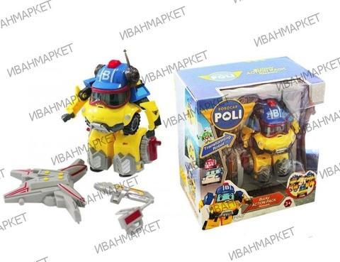 2 Машинки-трансформера с аксессуарами Марк и Баки (Робокар Поли).