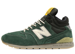 Кроссовки Мужские New Balance 696 Made In USA Green Yellow