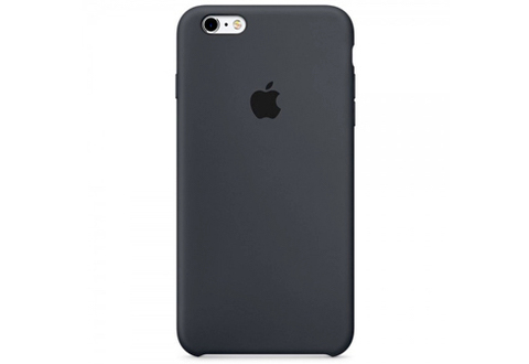 Apple iPhone 6/6S Чехол Silicon Case (Черный)