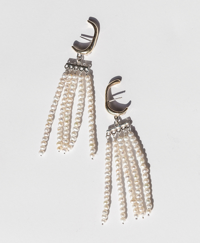 Серьги SWING Earrings Bronze
