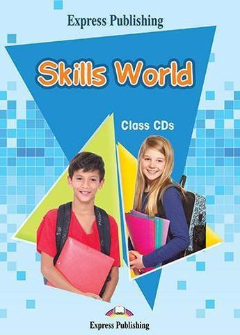 Skills World. Class CDs (set of 4). Аудио CD для работы в классе