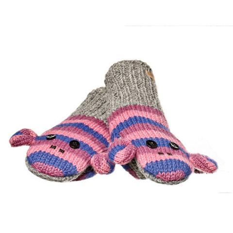 варежки Knitwits Stripe Sock Monkey