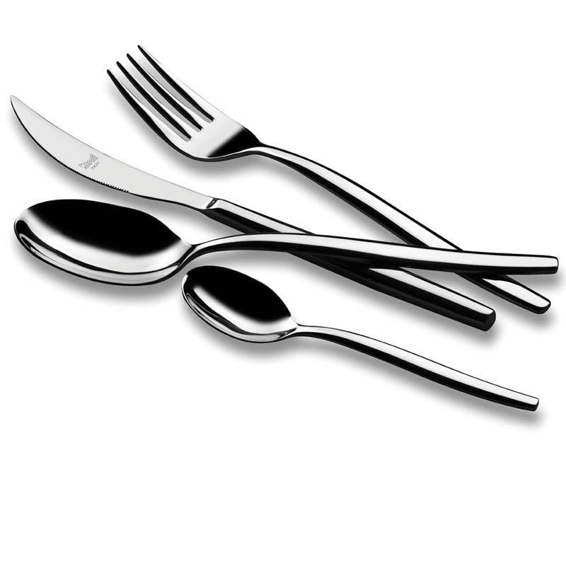 Набор столовых приборов на 6 персон • SASSONIA (Столовые приборы Mepra)