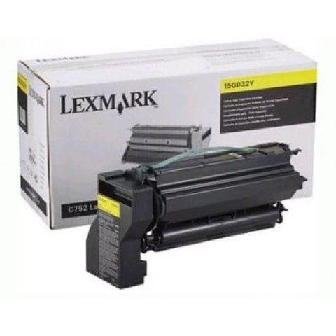 Картридж для принтеров Lexmark C752, C762 желтый (yellow). Ресурс 15000 стр (15G032Y)