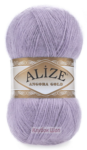Angora GOLD Alize 257 Лаванда - фото