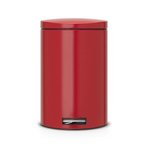 Мусорный бак Brabantia  (20л), Бесшумный, Пламенно-красный, арт. 483745 - фото 1