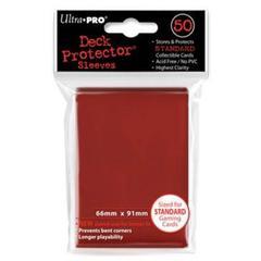 Ultra Pro - Красные протекторы 50 штук
