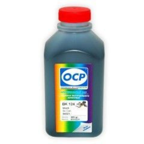 Чернила OCP BK 124 Black для Canon CLI-521BK, 500 мл