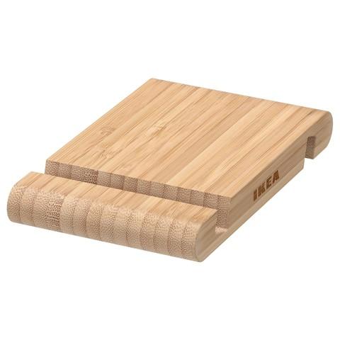 БЕРГЕНЕС Подставка для смартфона/планшета бамбук