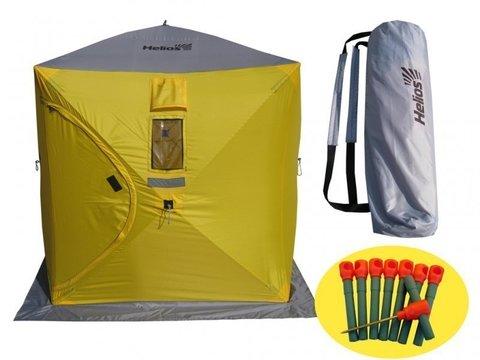 Палатка для зимней рыбалки Helios КУБ 1.5х1.5м Тонар