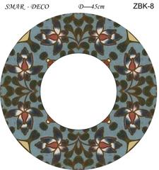 Эскиз для росписи, Зеркало диаметр-45см, SMAR-ZBK-8