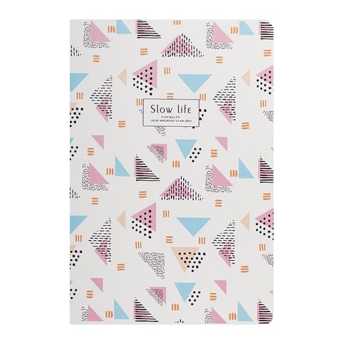 Тетрадь A5 Slow Life Triangle Pink