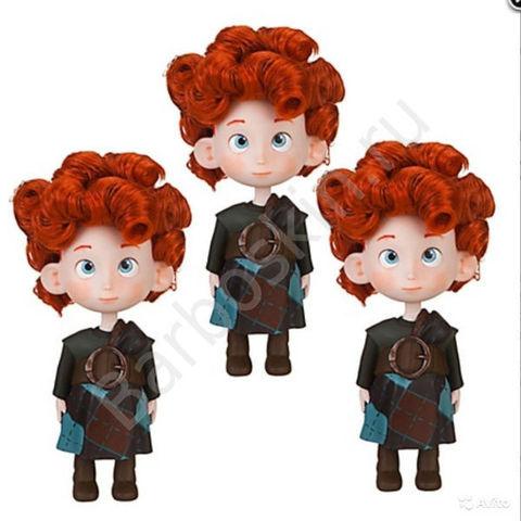 Три брата Храброй Мериды с медвежатами: Харрис, Хуберт и Хэмиш - Храбрая Мерида (Brave Merida), Disney