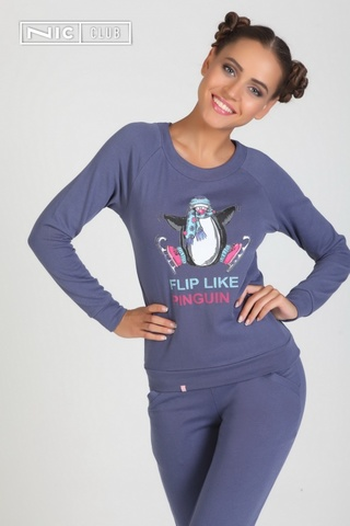 Костюм женский NicClub Pinguin 1501 Деним