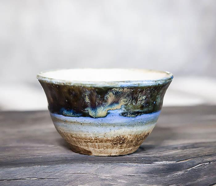CUP101-1 Пиала для чая ручной работы из глины