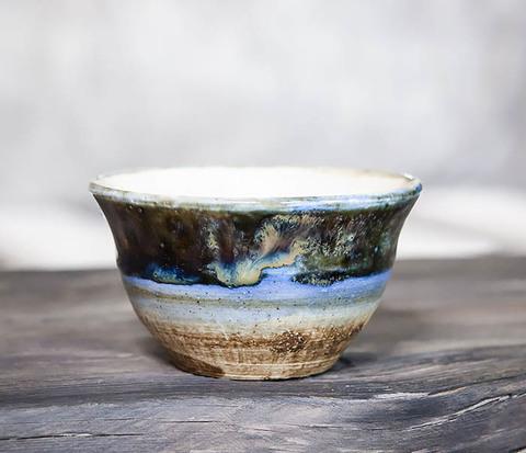 Пиала для чая ручной работы из глины