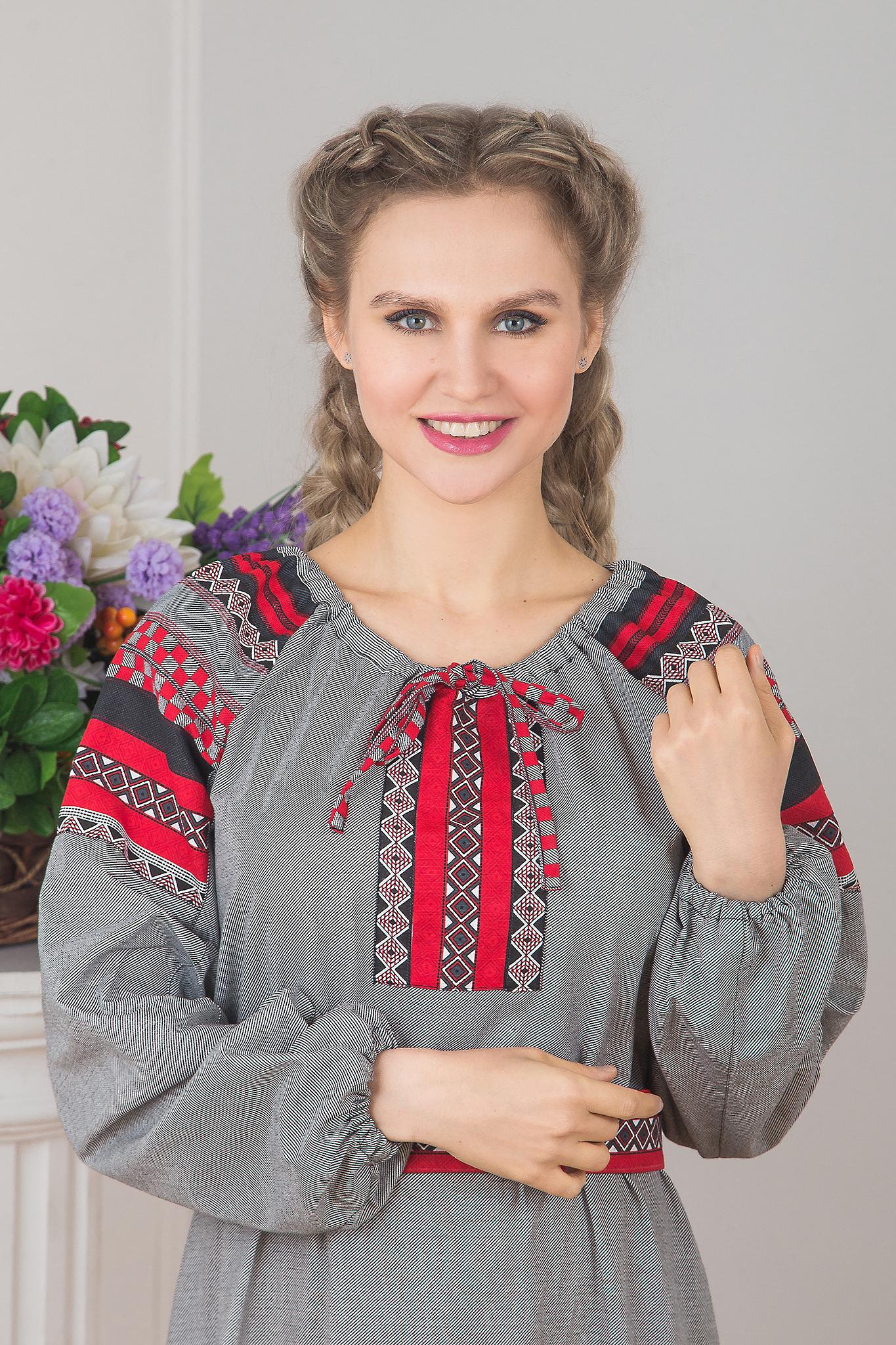 Традиционное платье Чалдоны 01 увеличенный фрагмент