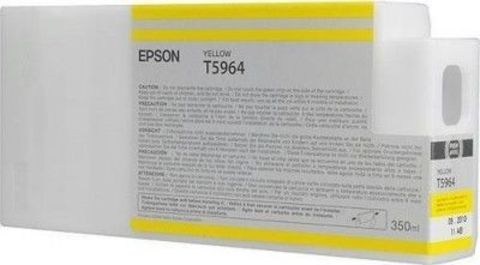 Картридж Epson C13T596400 жёлтый 350 мл для Epson Stylus Pro 7700/7890/7900/9700/9890/9900