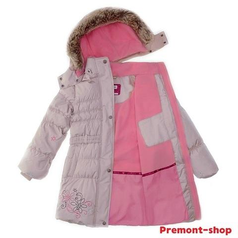 Пальто Premont зимнее Маршмеллоу WP91352 BEIGE