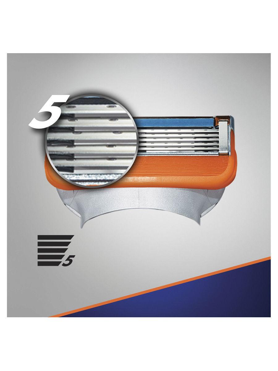 Gillette Fusion Power комплект (5х8) 40шт. (Цена за 1 пачку 1223р.)