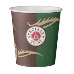 Стакан одноразовый бумажный Coffee-to-Go 100мл, 80 шт./уп.однослойный