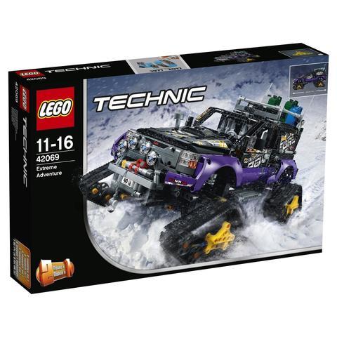 LEGO Technic: Экстремальные приключения 42069 — Extreme Adventure — Лего Техник