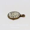 """Подвеска """"Часы"""" (цвет - античная бронза) 24х18 мм"""