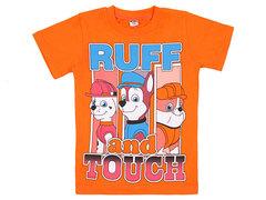 19065-42 футболка детская, оранжевая