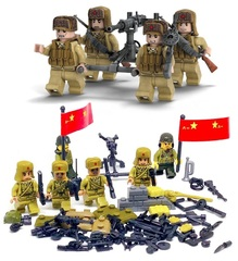 Минифигурки Военных Советская Армия Союзники серия 149