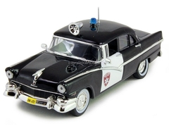 Ford Fairlane Police Detroit USA 1:43 DeAgostini World's Police Car #1