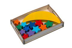 Балансир Луна-равновеска, Smile Decor, удобная коробка для хранения