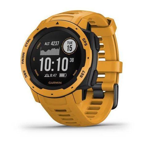 Купить Ударопрочные спортивные часы Garmin Instinct, Sunburst 010-02064-03 по доступной цене
