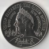 2000 P3146 Великобритания 5 фунтов 100 лет Королеве - Матери