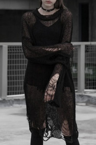 Свитер-платье «ALBO-THOR»
