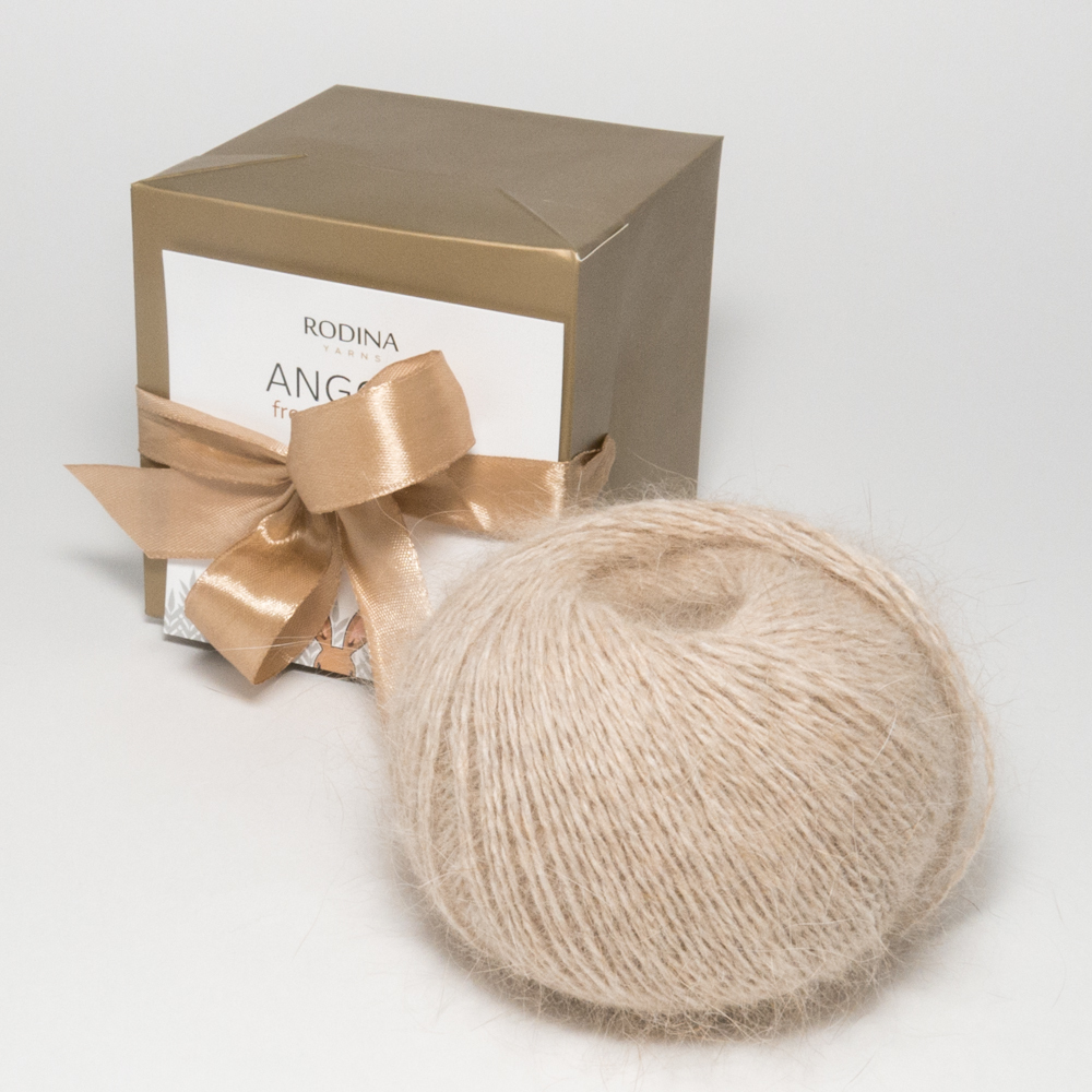 Пряжа ANGORA From The Farmer Rodina Yarns