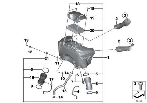 Сменный элемент фильтра BMW R1200 LC