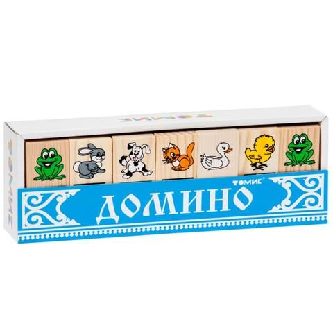 Домино для детей Животные, Томик, арт. 5555-1