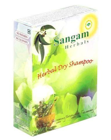 Травяной сухой шампунь Сангам Хербалс, 100 г (Индия)