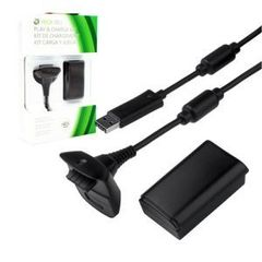 Microsoft Xbox 360 Slim Play & Charge Kit