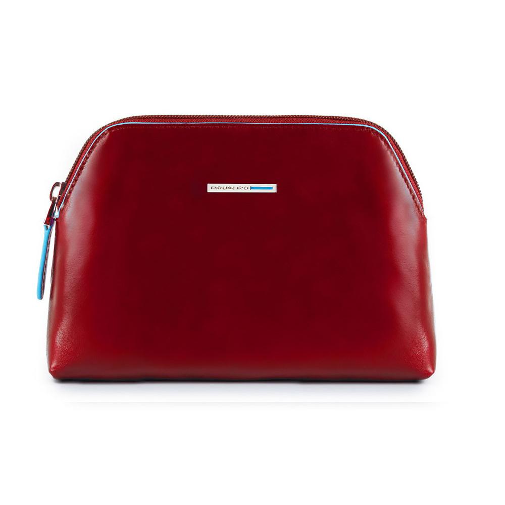Косметичка Piquadro, цвет красный, 18,5x12,5x5 см (BY3794B2/R)