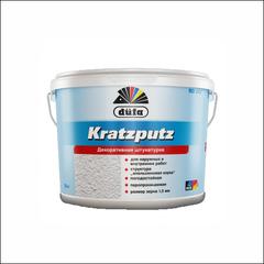 Штукатурка для фасадных и внутренних работ Dufa KRATZPUTZ AUSSEN D227 (Белый)