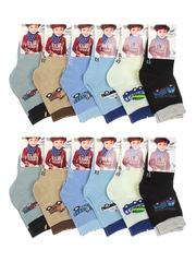 113 носки детские, цветные (12шт)