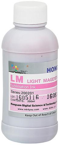 Чернила сублимационные DCTEC серии 200201 - Light Magenta (светло-пурпурный) - 200 мл