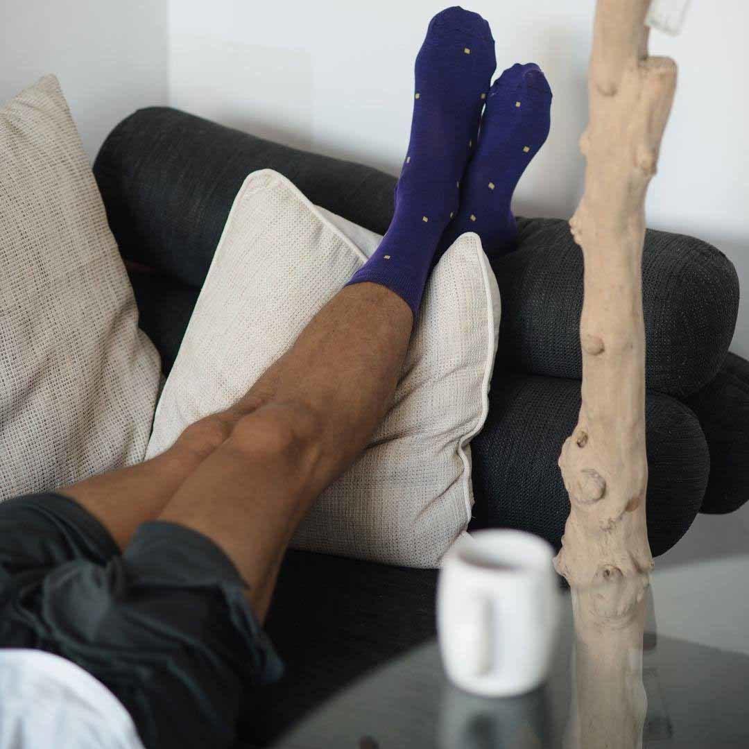 Носки мужские фиолетовые Art Of Color
