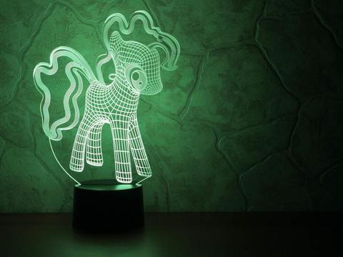 3D лампа Little Pony
